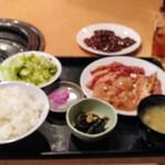 143701601 - 日替り焼肉定食 1000円