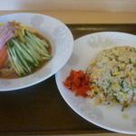 生香楼 - 冷麺と炒飯セット