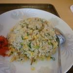 生香楼 - 冷麺と炒飯セット(炒飯アップ)