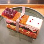 メゾン ド フルージュ - 苺のミルフィーユ