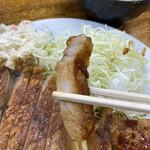こづち - 豚肉断面