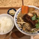 ごちとん - 西京味噌ごちそう豚汁定食 1199円