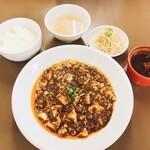 麻婆豆腐専門店 とだや - 料理写真:四川麻婆豆腐定食
