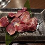 焼肉元太 - 鶏の砂肝(720円)