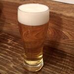 東白庵 かりべ - 生ビール