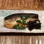 東白庵 かりべ - ニシン炊き