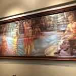 南インド料理ダクシン - 壁の絵