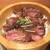 炙り牛たん 万 - 料理写真:牛炙りステーキおひつめし