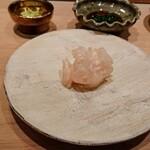 Sushi matsuura - カワハギの肝和え