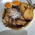 143735592 - これが本当に美味しい!豚の角煮は是非注文してください。絶品です!