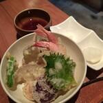 雪齋 - 料理写真:天ぷら盛合せ