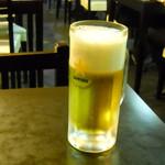 安東閣 - 30円セットのビール、たぶん20円相当?