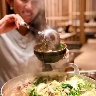もつ鍋は究極の美容食