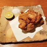 恵比寿 吉乃坐 - 大山鶏の唐揚げ