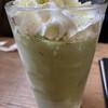 ピークス カフェ - ドリンク写真:フローズン抹茶ラテです