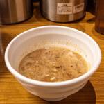 馳走麺 狸穴 - つけ汁