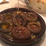 Brasserie Café ONZE - マッシュルームの姿焼きスペイン風