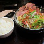 麺屋彩々 - 食べ終わった後に…ご飯をInすると素敵なのですw