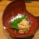 さけぼうず 旬仙 - 自家製塩辛420円
