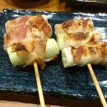 さけぼうず 旬仙 - ネギ肉巻き400円