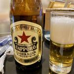 産直グルメ回転寿司 函太郎Tokyo - 瓶ビール中瓶