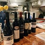 ビストロフジ - オススメの赤ワイン〜どれも8000円以下〜