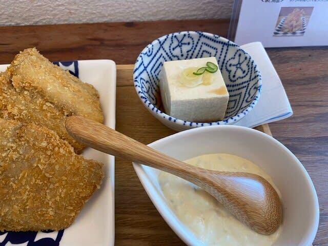 タルタル 食堂 アジフライ