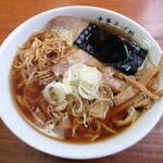 琴壱 - 料理写真:中華そば(こってり)720円