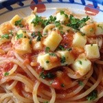Joripasuta - トマトとモッツアレラチーズのパスタ