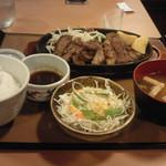 やよい軒 - ビーフステーキ定食890円→キャンペーン価格790円