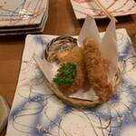 四季の里 和平 - 鱈のフライ