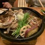 四季の里 和平 - 鯛のかぶと煮