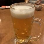 四季の里 和平 - 生ビール
