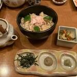 四季の里 和平 - カニ飯だし茶漬