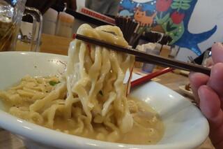 くじら食堂 - ピロピロ麺
