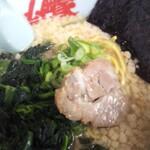 山岡家 - 醤油ラーメン¥670 ホウレン草¥120