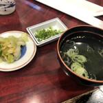 食い道楽 - スープ付きがうれしい