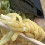 ラーメン山岡家 - 硬めの麺です