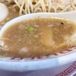 143766381 - 特製味噌中華のスープ