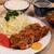 とんき - 料理写真:ロースかつ定食