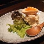 炉端美酒食堂 炉とマタギ - ポテトサラダ