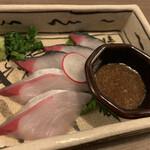 玄海の活魚と糸島直送の食 博多居酒屋 どげん海 - 博多胡麻サバ