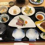 いけす円座 - 料理写真:九絵御膳 梅