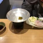 いけす円座 - クエ鍋
