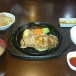 キッチン 五斗米 - 料理写真:OPEN8周年感謝記念感祭 生ハムサラダ&牛ヘレステーキ(140g) セット