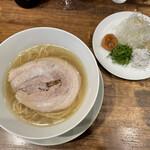 創作麺工房 鳴龍 - 「梅塩拉麺」1150円
