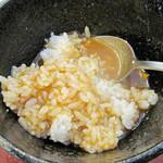 四代目横井製麺所 - 冷やしカレー汁ごはん