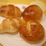BAQET - クロワッサン、シュガクロ、ミルクパン、コーングリッツ