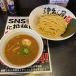 つけ麺 津気屋 - 味玉極つけ麺