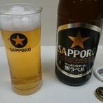 千曲食堂 - ビール (中)  ¥500 -